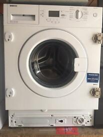 Beko integrated washing machine WMI61241 with warranty n fitting