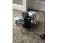 Brand new rotating disco balls