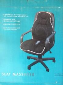 Seat massager for office/car chair