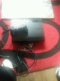 Ps3 and 8 games 12gb