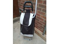 Shopping trolley moving out sale_ almost new
