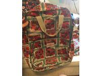 cath kidston london bus backpack