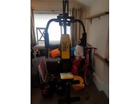 Everlast multigym, only used an hand full of times, like new