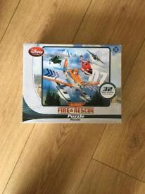 Disney Planes fire and rescue puzzle