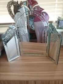 Vintage style dressing table mirror