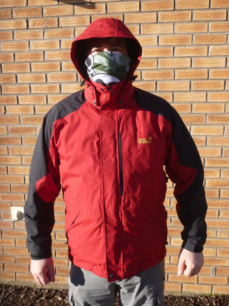 buy online 37fc4 4931c Jack Wolfskin winter jacket for sale. Size Large, 42-46 chest. | in  Kirriemuir, Angus | Gumtree