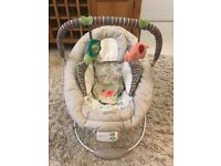 Excellent condition baby bouncer chair