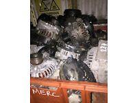MERCEDES C220 C180 E220 E280 ALTINATOR AVALIABLE