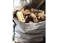 Firewood Split Logs. builders bags of softwood logs. Castle Douglas Area. DG7