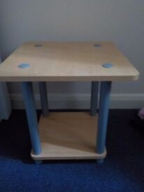 2 wooden bed side tables for sale