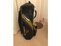 Cobragolf Trolley Bag - Black & Gold - Competition Prize Never Used