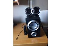 Loud Sony desk speakers