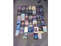 Books for sale: Alex Kava, Karen Rose, Kathy Reichs...
