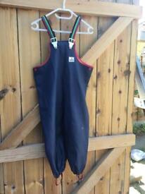 Kid's Waterproof Rain Suit