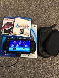 PS Vita +3 Games