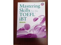 TOEFL iBT Preparation Help Book and CD set