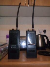 team Kp4000 Handheld 40 channel cb radio X2