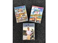 Top Gear and Clarkson DVD's