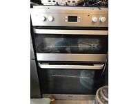 Beko integrated electric oven and grill