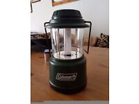 Coleman collapsible camping lamp