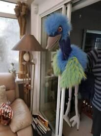 Large hand Emu...