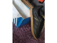 Adidas Gazelle Black gum 3 brand new in box with tags size 6