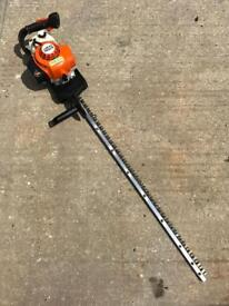 """2008 STIHL HS86T HEDGE TRIMMER WITH 40"""" BLADES IN VGC"""