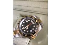 Rolex watch gmt 2 new ,box/papers