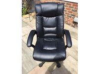 Stylish Black Office Chair
