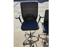 vitra draughtsman chairs