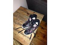 Floral bk shoes