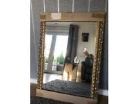 LARGE - HEAVY - ORNATE MIRROR - BRAND NEW - NEVER USED - JOHN LEWIS