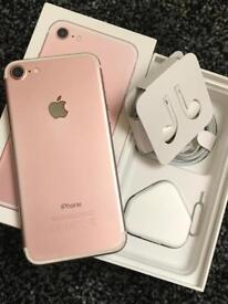 Apple iPhone 7 32gb gold on EE