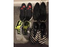 4 pairs size6 joke trainers