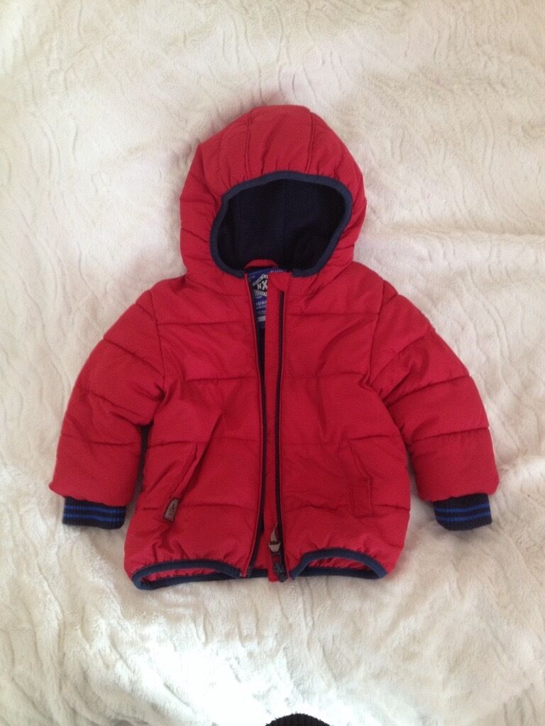 Winter jacket from Next for 6 9 moths old boyin Currie, EdinburghGumtree - Winter jacket from Next 6 9 months old boy, really warm and cozy, good condition