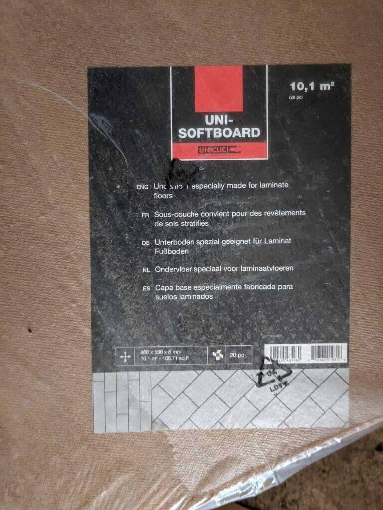 38sq  m NEW Quickstep Underlay Softboard 6mm | in Stonehaven, Aberdeenshire  | Gumtree