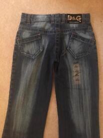Brand New Designer Dolce & Gabbana Ladies Jeans Size 8