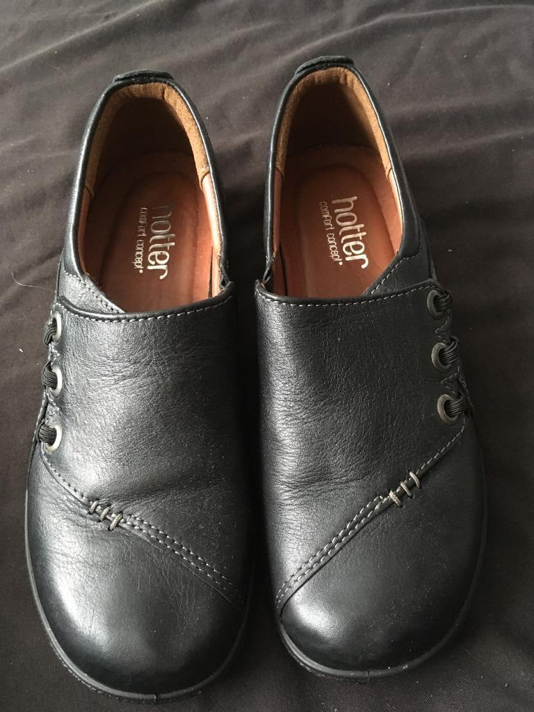 Hotter black shoes