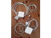 2 x Apple MagSafe Power Adapter (for MacBook and 13-inch MacBook Pro)