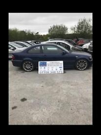 2006 320 coupe e46 parts breaking bcg