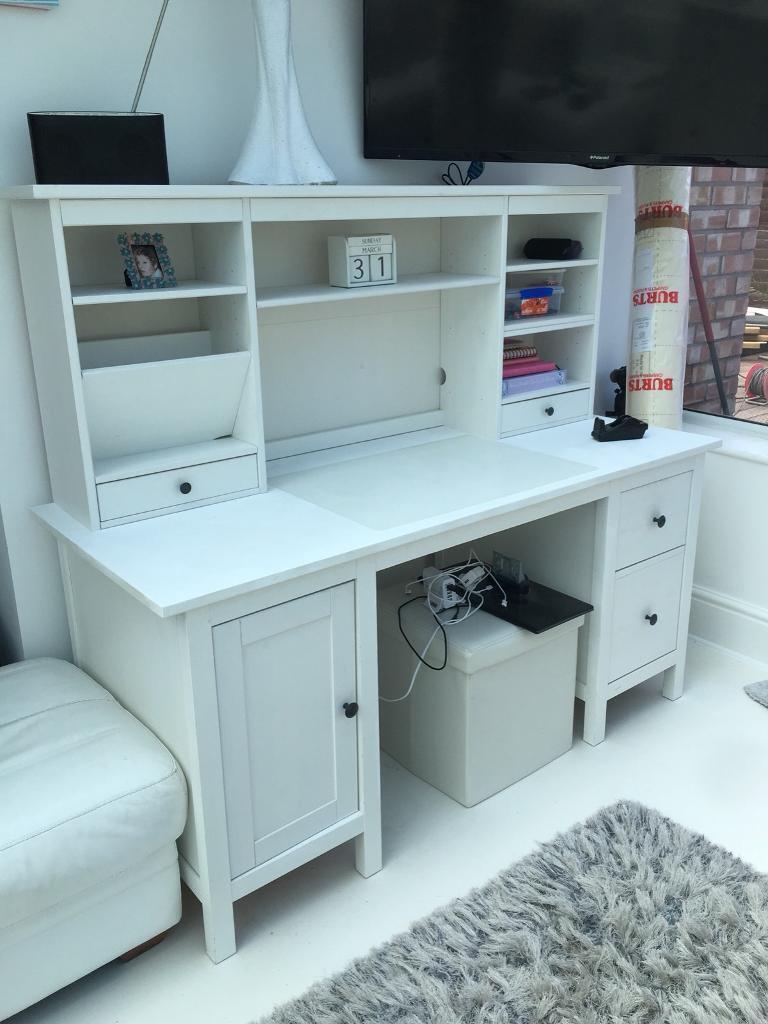 Ikea hemnes pedestal desk & top unit   in Portsmouth, Hampshire ...