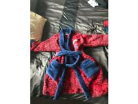 Spiderman dressing gown & dressing up costume