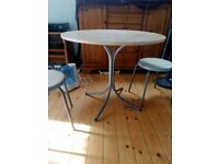 Dining /Bistro table and 2 chairs