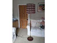 restored standard lamp
