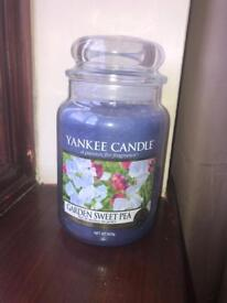 Yankee Candle NOT USED YET Garden Sweet Pea