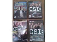 CSI Games for your Computer