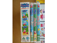 Kids DVD's - Bob The Builder, Peppa Pig and more