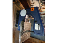 Combined Band Saw and Sander using 178cm blades + Instructions + sanding bits