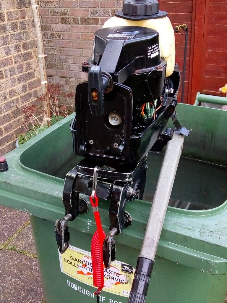 Mariner 3 3 HP short shaft two stroke outboard engine for sale £340  ?? |  in Poole, Dorset | Gumtree