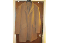 Next Cream/Camel Coat Mens XL - WORN ONCE